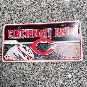 Reds license plate